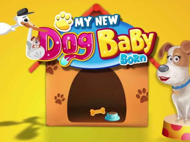 My New Dog Baby Born - iOS Android Gameplay Trailer By GameiMax