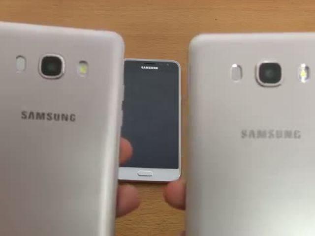 Samsung Galaxy J7 vs J5 vs J3 (2016) Camera Test