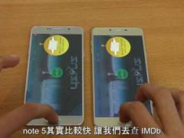 Samsung Galaxy C7 vs Note 5 - Speed Test!