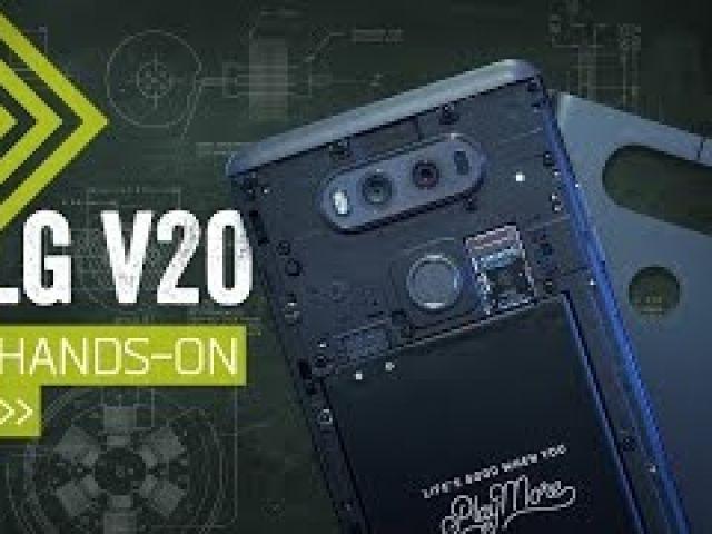 LG V20 Hands On: The Phone For AV Geeks