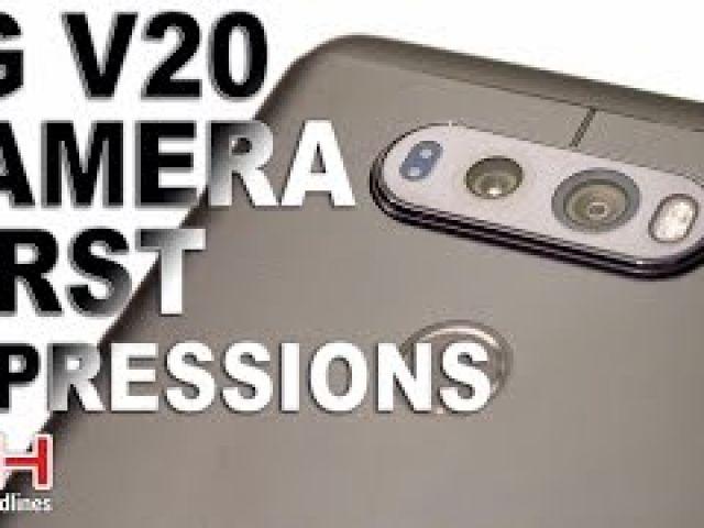 LG V20 Camera First Impressions Hands On