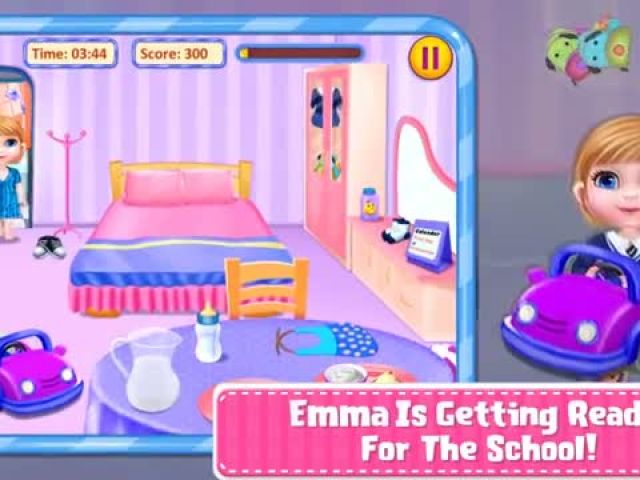 Sweet Baby Emma Preschool - Sweet Baby Preschool Games By Gameiva