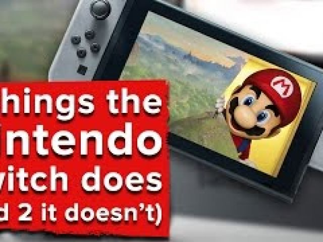 7 things the Nintendo Switch does (and 2 things it doesn't)
