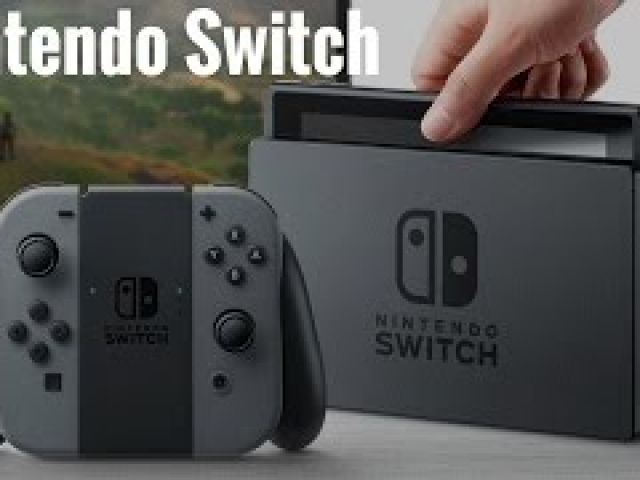 Nintendo Switch First Look!!!