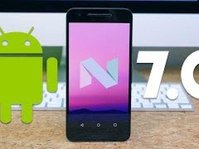 Android 7.0 Nougat on Nexus 6P!