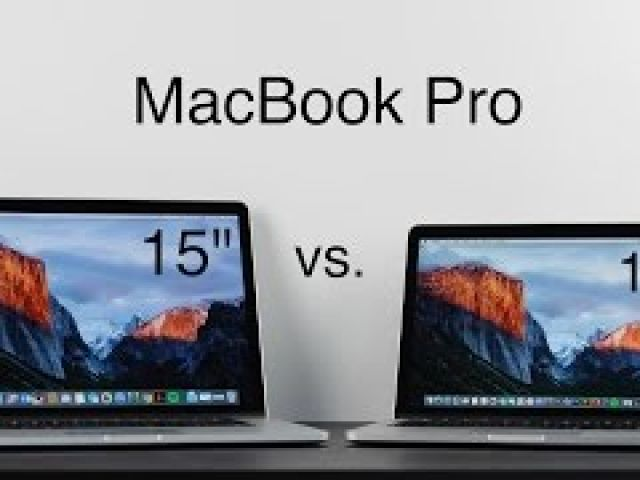 What to Buy 2016: 13 Inch vs. 15 Inch MacBook Pro with Retina Display
