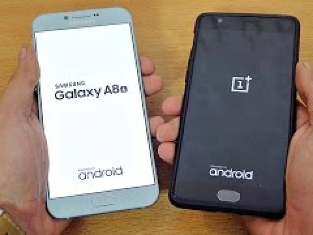 Samsung Galaxy A8 (2016) vs OnePlus 3 - Speed Test!