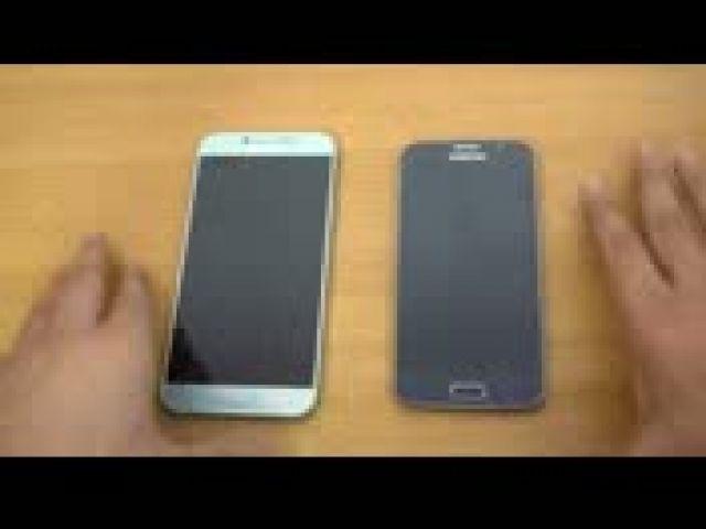Samsung Galaxy A8 (2016) vs Galaxy S6 - Speed Test!