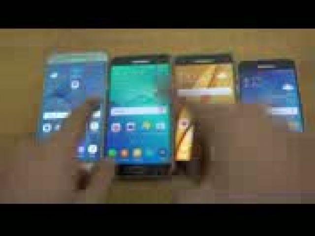 Samsung Galaxy A8 vs A7 vs A5 vs A3 (2016) - Speed Test!