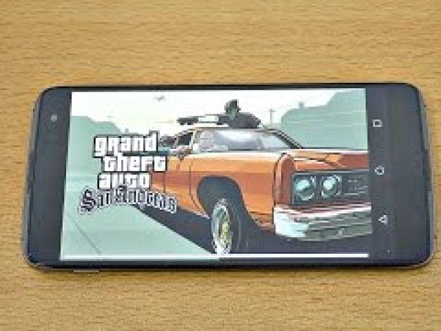 BlackBerry DTEK60 Gaming Review GTA San Andreas!