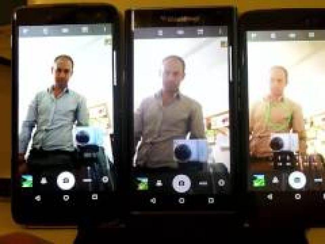 Review DTEK60 Selfie camera