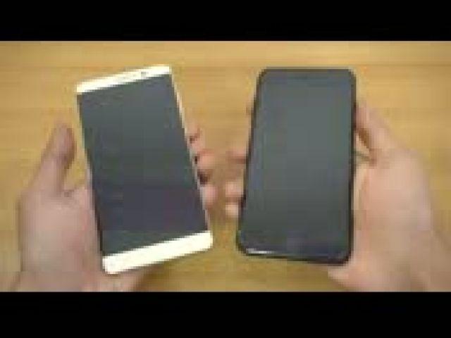 Huawei Mate 9 vs iPhone 7 Plus - Speed Test!