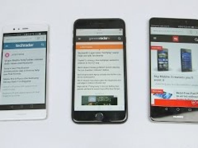 Huawei Mate 9 vs iPhone 7 Plus vs Huawei P9: Battery Test