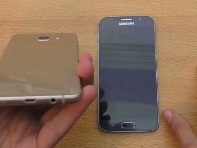 Samsung Galaxy A5 (2016) vs Galaxy S6 - Speed & Camera Test