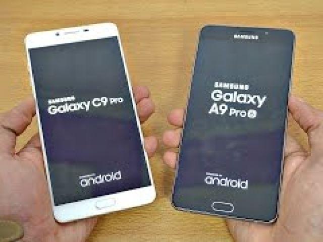 Samsung Galaxy C9 Pro vs Galaxy A9 Pro (Speed Test)