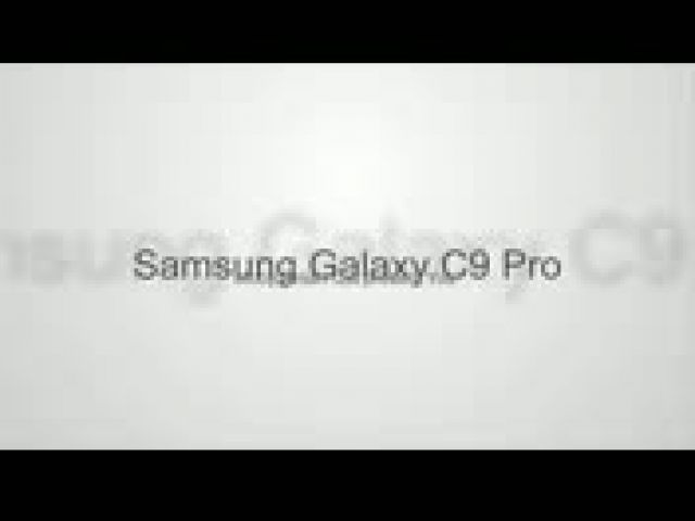 Samsung Galaxy C9 Pro Official Specs