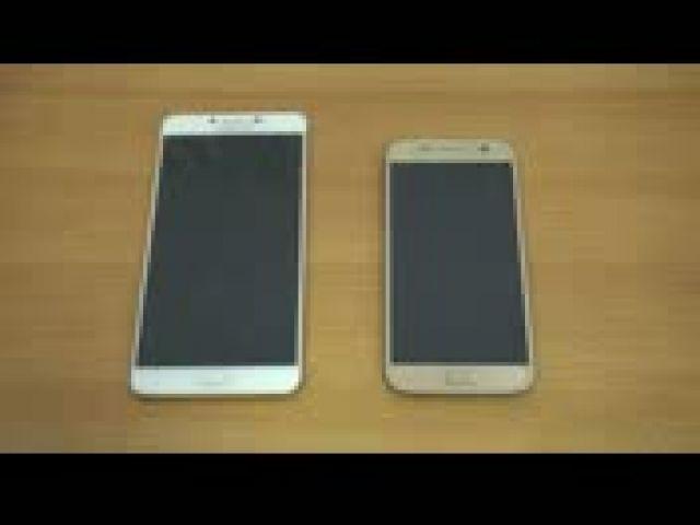 Samsung Galaxy C9 Pro vs Galaxy S7 (Speed Test)