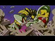 Dragon Ball Gt-Goku vs Baby-Vegeta Parte 2 HD