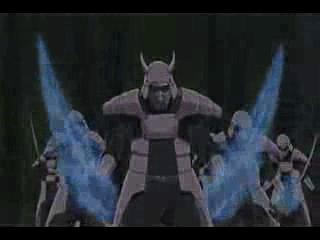 Sasuke vs 4 Kage