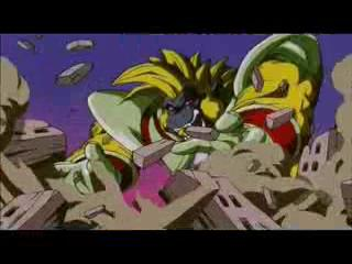 Dragon Ball Gt-Goku vs Baby-Vegeta Parte 2 HD