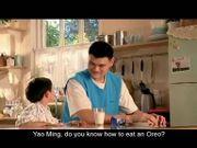 Oreo TVC China Dunking Challenge Yao Ming