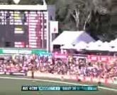 Kieron Pollard takes a fantastic catch in the deep to dismiss Glenn Maxwell 06 02 13