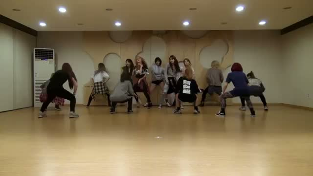 4MINUTE - ? Whatcha Doin' Today Choreography Practice Video