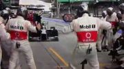 Lewis Hamilton wrong pit stop - F1 Malay