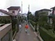 Funny Japanese Prank - Sticky Street