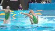 Russia Wins Teams Synchronised Swimming Gold