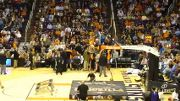 Guy dunks himself through Basketball Hoop, Phoenix Suns Gorilla Original Boy gets dunked