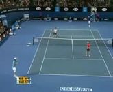 Hilarious point between Nadal,Federer and Novak !
