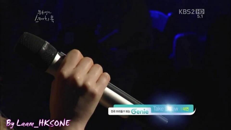 SNSD Tae-yeon take a bow