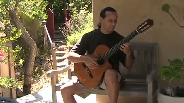 The Godfather Music on Spanish Acoustic Guitar