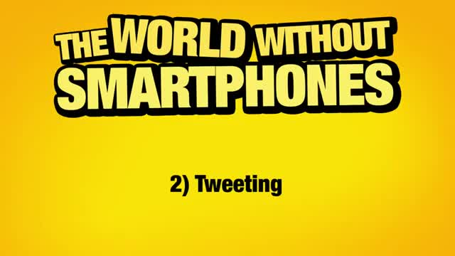The World Without Smartphones