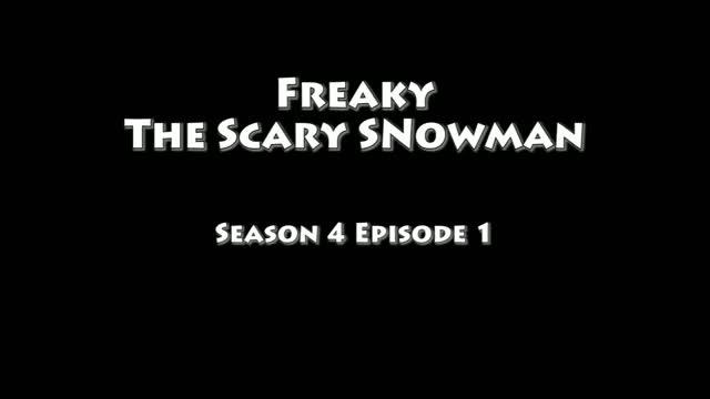 Funny Scary Snowman Prank