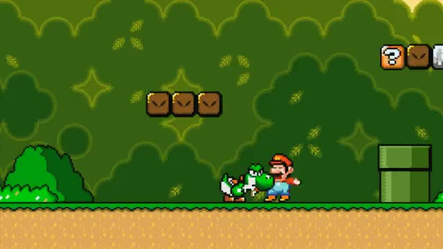 Mario Game - Yoshi isn't that cuddly after all