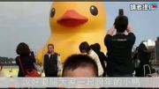 Rubber duck in Taiwan explodes AGAIN; becomes an international joke