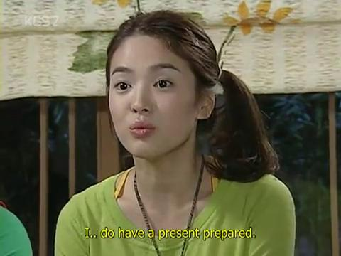 Korean drama Full House - Three bears song scene