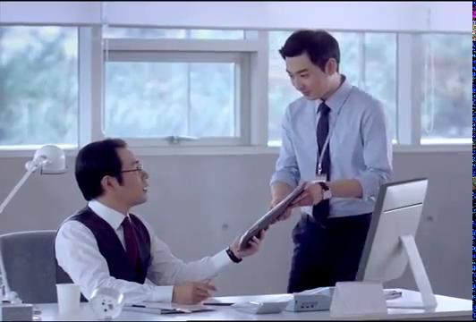 Impatient Korean Manager