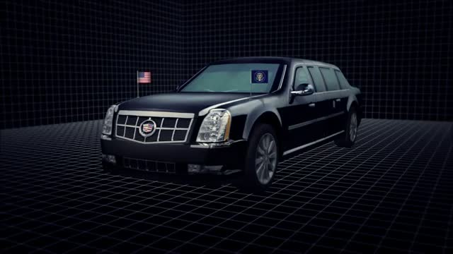 Meet 'The Beast, President Obama's Cadillac that's more tank than car