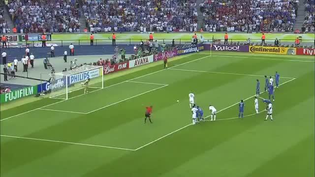 Zinedine Zidane Penalty Kick