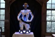 Creepy Robot Girl Docking Station that costs 6,500