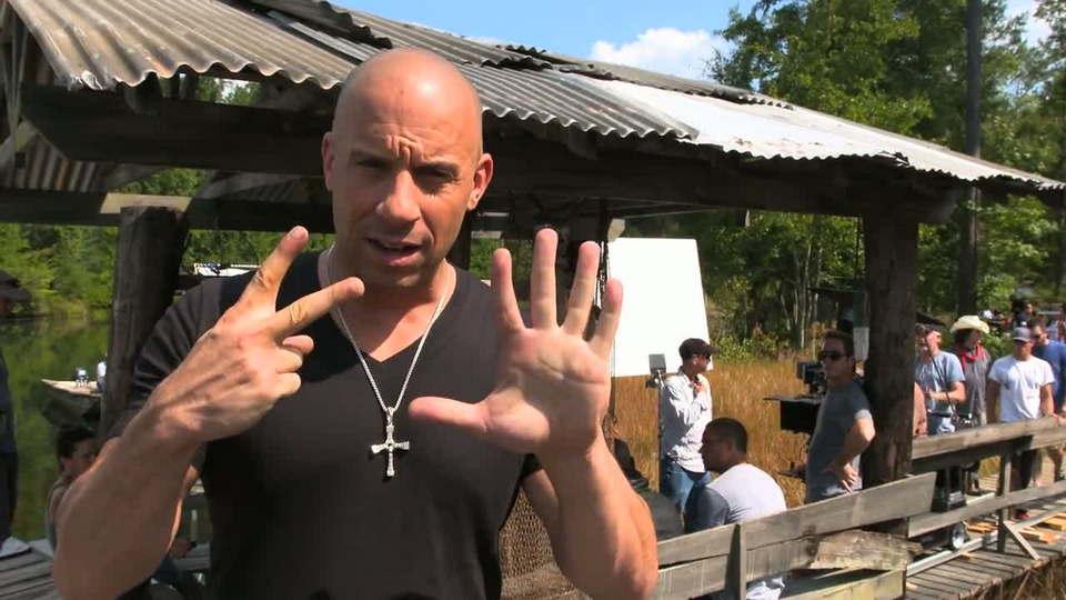 Vin Diesel Fast and Furios 7