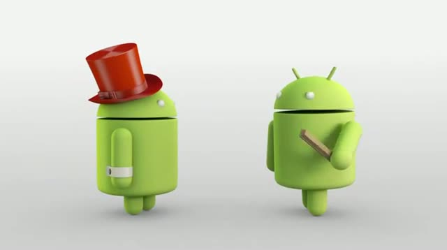 Android KITKAT 4.4 - Android Animation - Magic!
