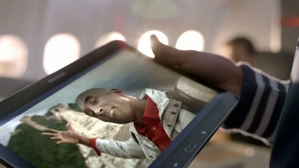 Kobe vs. Messi The Selfie Shootout