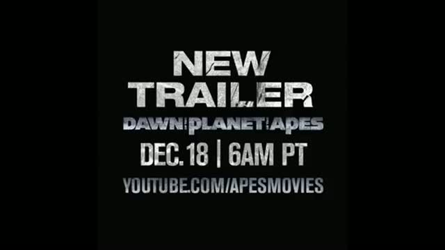 Dawn Of The Planet Of The Apes Trailer Sneak Peek HD 2014