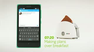 See Fastlane in action on the new Nokia X
