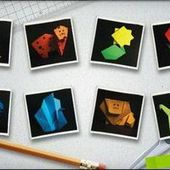 Origami Classroom Painting App II
