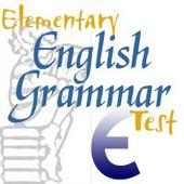 Elementary English Grammar Test
